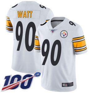 Mens Steelers T. J. Watt 100th Season Jerseys